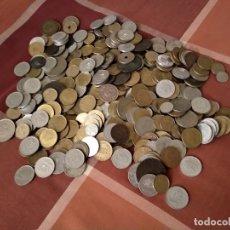 Monedas de España: LOTE DE 522 MONEDAS ESPAÑOLAS O 1,3 KG VARIADAS JUAN CARLOS I, FRANCO, ALFONSO XIII, GOBIERNO PROB.. Lote 180488970