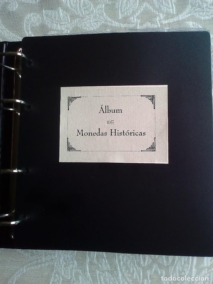 ÁLBUM DE 302 MONEDAS HISTÓRICAS (Numismática - España Modernas y Contemporáneas - Colecciones y Lotes de conjunto)