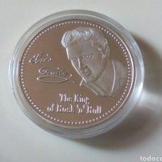 Monedas de España: MONEDA PLATA ELVIS PRESLEY. Lote 221282727