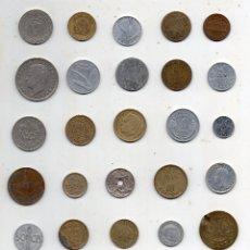 Monedas de España: LOTE DE 25 MONEDAS MUNDIALES PARA CLASIFICAR.. Lote 182106908