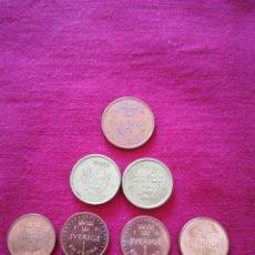 Monedas de España: SET MONEDAS SWERIGE 1,2,10 KRON. Lote 182385900