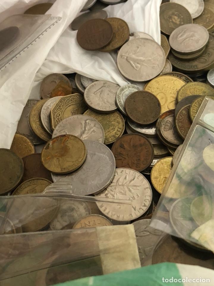 Monedas de España: Lote de algo más de tres kilos de chatarra por clasificar - Foto 4 - 182585037