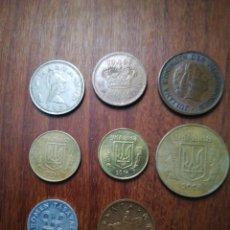 Monedas de España: SET MONEDAS DIFERENTE PAISES. Lote 182624181
