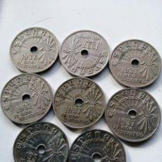 Monedas de España: LOTE 8 MONEDAS DE LA REPÚBLICA ESPAÑOLA. Lote 182966422