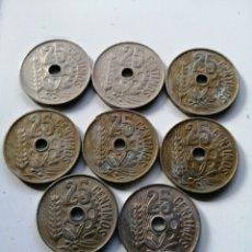 Monedas de España: LOTE 8 MONEDAS DE LA REPÚBLICA ESPAÑOLA. Lote 182966545