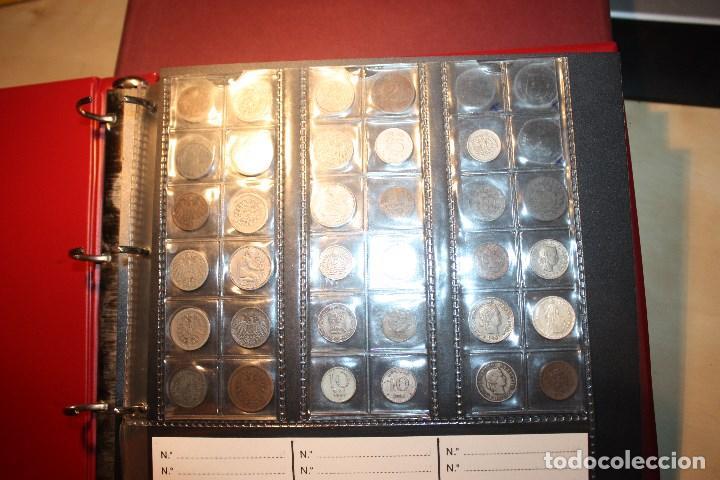 Monedas de España: COLECCIÓN 333 MONEDAS EXTRANJERAS. MUCHAS DE PLATA. ALGUNOS AÑOS Y CONSERVACIONES MUY INTERESANTES - Foto 3 - 183697930