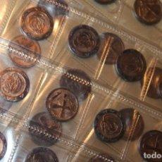 Monedas de España: KATANGA LOTE 50 MONEDAS DE 1 FRANCO 1961 SIN CIRCULAR . Lote 183705000