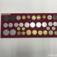 Monedas de España: LOTE DE MONEDAS FRANCESAS VARIAS DE 1854 A 1963. Lote 184468456