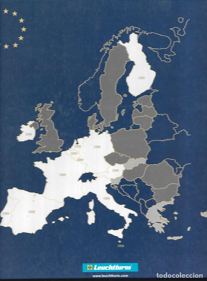 Monedas de España: RARA CARPETA MONEDAS DE 2 € DEL TRATADO 10 AÑOS DE LA UNION EUROPEA MÁS ALEMANIA 5 LETRAS - Foto 4 - 184723212