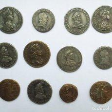 "Monedas de España: COLECCIÓN DE DOCE JETONES DE LA SERIE FRANCESA ""LES TRESOR DES ROIS DE FRANCE"". Lote 189096308"