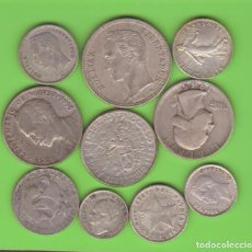 Monedas de España: MONEDAS EXTRANJERAS - LOTE DE 10 MONEDAS DIFERENTES, VARIOS PAISES (MBC/EBC). Lote 189547098
