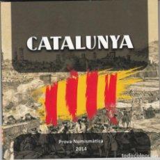 Monedas de España: PROVA NUMISMATICA DE EUROS DE CATALUNYA - REPUBLICA CATALANA - 2014 EDICIÓN LIMITADA - 8 MONEDAS. Lote 210828295