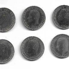 Monedas de España: LOTE DE 10 MONEDAS DE 100 PESETAS 8 DE 1975-76 Y 2 DE 1980 MUY BUENA CALIDAD. Lote 191729132