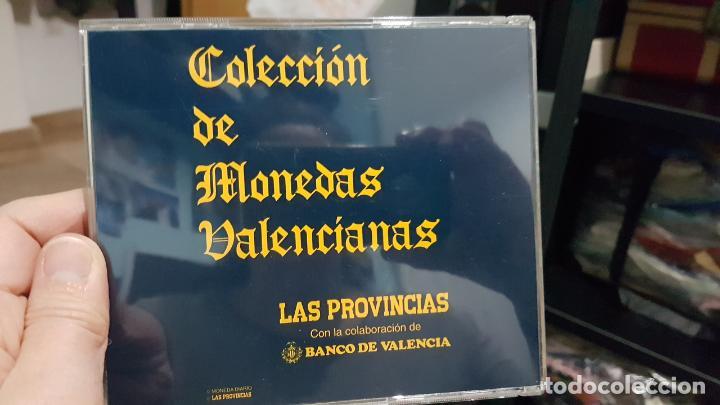 COLECCIÓN MONEDAS VALENCIA MEDIEVAL LAS PROVINCIAS (Numismática - España Modernas y Contemporáneas - Colecciones y Lotes de conjunto)