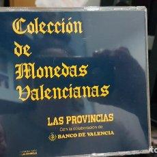 Monedas de España: COLECCIÓN MONEDAS VALENCIA MEDIEVAL LAS PROVINCIAS . Lote 192832385