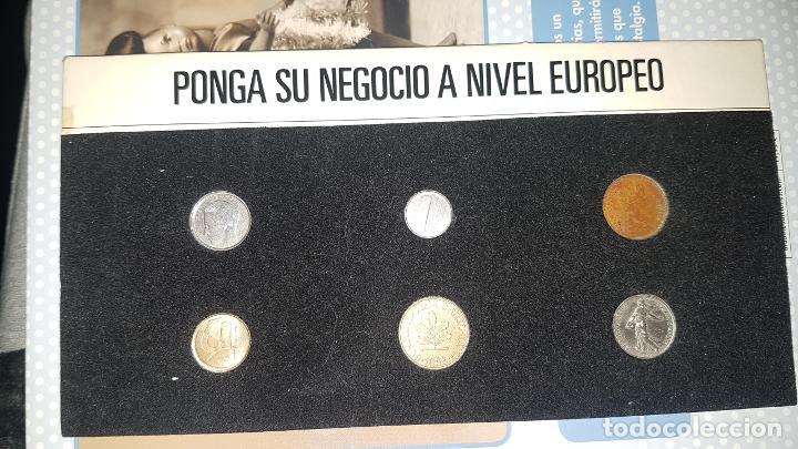 MUESTRARIO MONEDAS EUROPEAS (Numismática - España Modernas y Contemporáneas - Colecciones y Lotes de conjunto)