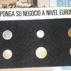 Monedas de España: MUESTRARIO MONEDAS EUROPEAS. Lote 192835722