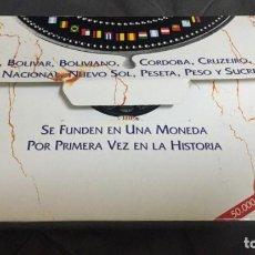 Moedas de Espanha: I SERIE IBEROAMERICANA ENCUENTRO ENTRE 2 MUNDOS SOLO 50.000UNIDADES. Lote 192925950