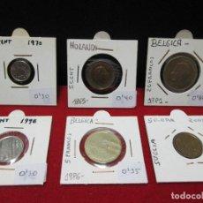 Monedas de España: 6 MONEDAS EXTRANGERAS VEAN FOTOGRAFIAS. Lote 193257585