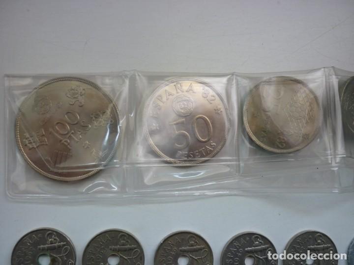 Monedas de España: Pequeña colección de monedas españolas, que data de 1880 a 1980. - Foto 6 - 194203467