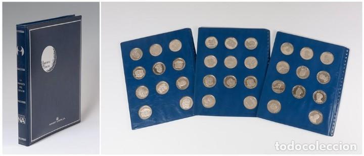 Monedas de España: Lote de 33 monedas de plata Conquista del espacio - Foto 3 - 194222010