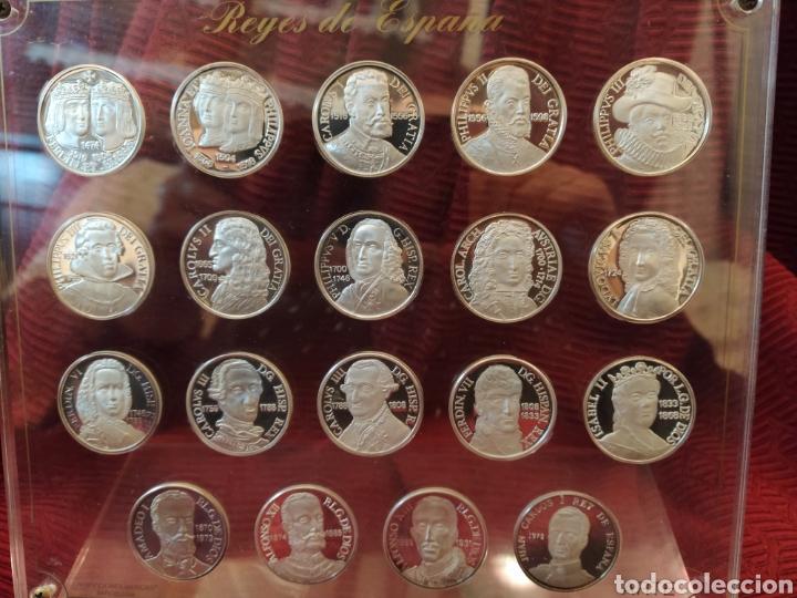 Monedas de España: 19 más monedas en plata de ley. Representa a los reyes de España. - Foto 2 - 194253361