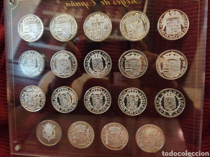 Monedas de España: 19 más monedas en plata de ley. Representa a los reyes de España. - Foto 4 - 194253361