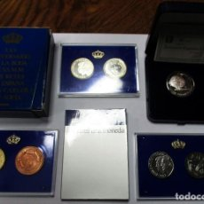 Monedas de España: XXV ANIVERSARIO DE LA BODA DE SS.MM LOS REYES. MONEDA DE 500 PESETAS Y PRUEBAS Y MEDALLA. LOTE 2319. Lote 194707308