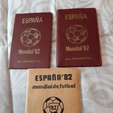 Monedas de España: LOTE MUNDIAL 82. SERIE 80,81,82. Lote 194939793