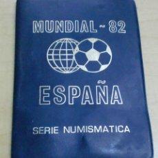 Monedas de España: CARTERA CON 6 MONEDAS SERIE NUMISMÁTICA MUNDIAL 82 ESPAÑA COMPLETA. Lote 195267730