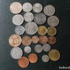 Monedas de España: CONJUNTO DE MONEDAS DE SUECIA ALGUNAS DE PLATA EN MUY BUEN ESTADO DE AÑOS 40 A 2000. Lote 197301995