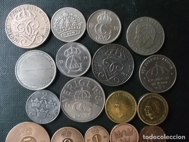 Monedas de España: conjunto de monedas de Suecia algunas de plata en muy buen estado de años 40 a 2000 - Foto 3 - 197301995