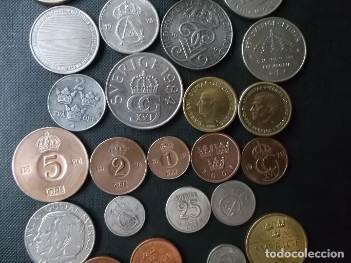 Monedas de España: conjunto de monedas de Suecia algunas de plata en muy buen estado de años 40 a 2000 - Foto 5 - 197301995