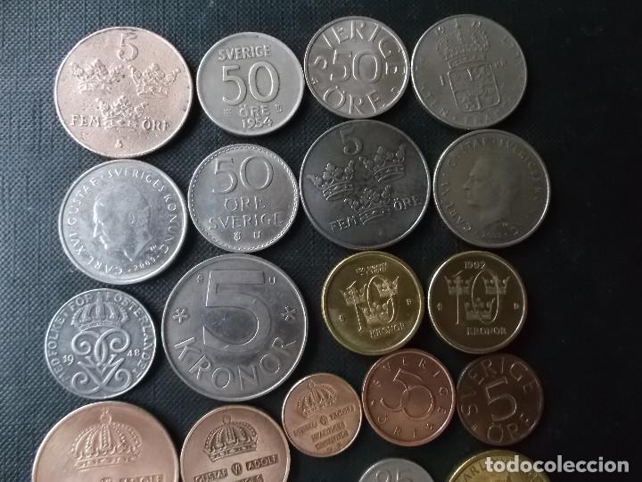 Monedas de España: conjunto de monedas de Suecia algunas de plata en muy buen estado de años 40 a 2000 - Foto 6 - 197301995