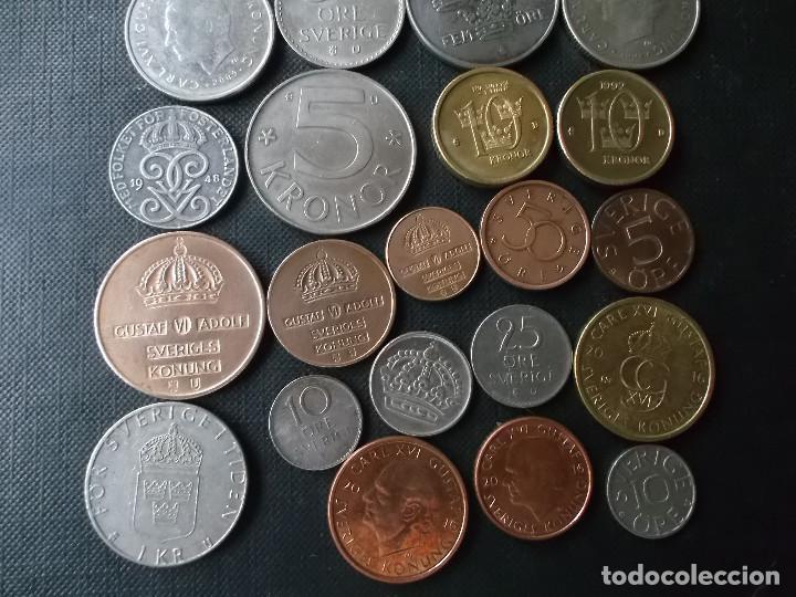 Monedas de España: conjunto de monedas de Suecia algunas de plata en muy buen estado de años 40 a 2000 - Foto 7 - 197301995