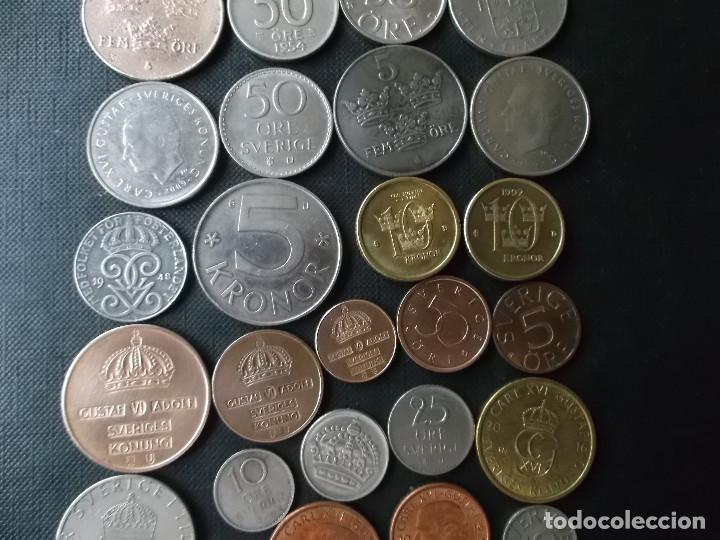 Monedas de España: conjunto de monedas de Suecia algunas de plata en muy buen estado de años 40 a 2000 - Foto 8 - 197301995