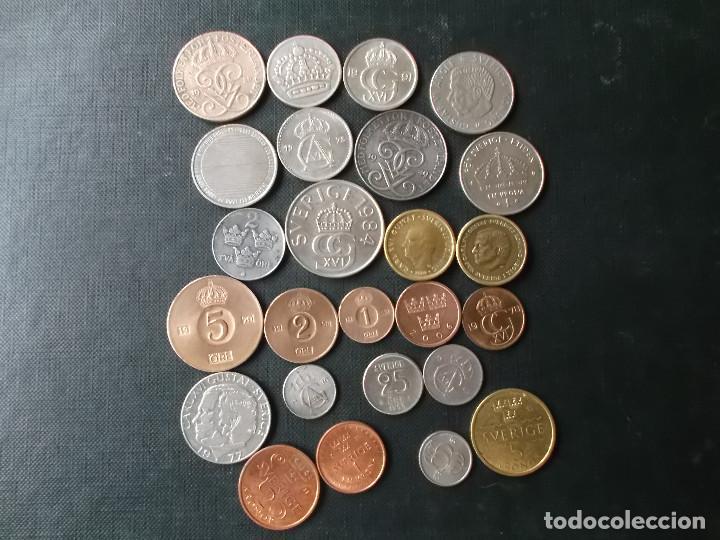 Monedas de España: conjunto de monedas de Suecia algunas de plata en muy buen estado de años 40 a 2000 - Foto 9 - 197301995