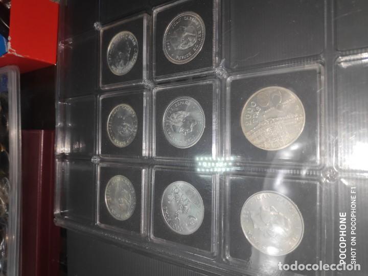 Monedas de España: ESPAÑA 2000 PESETAS - COLECCION COMPLETA ENCAPSULADAS QUADRUM 1994-2001- SIN CIRCULAR - Foto 6 - 212342453