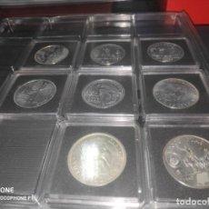 Monedas de España: ESPAÑA 2000 PESETAS - COLECCION COMPLETA ENCAPSULADAS QUADRUM 1994-2001- SIN CIRCULAR. Lote 212342453