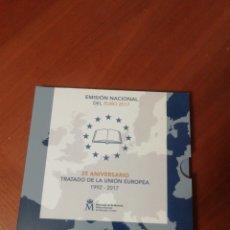 Monedas de España: CARTERA EURO 2017 TRATADO UNION EUROPEA 25 ANIVERSARIO. Lote 199522266