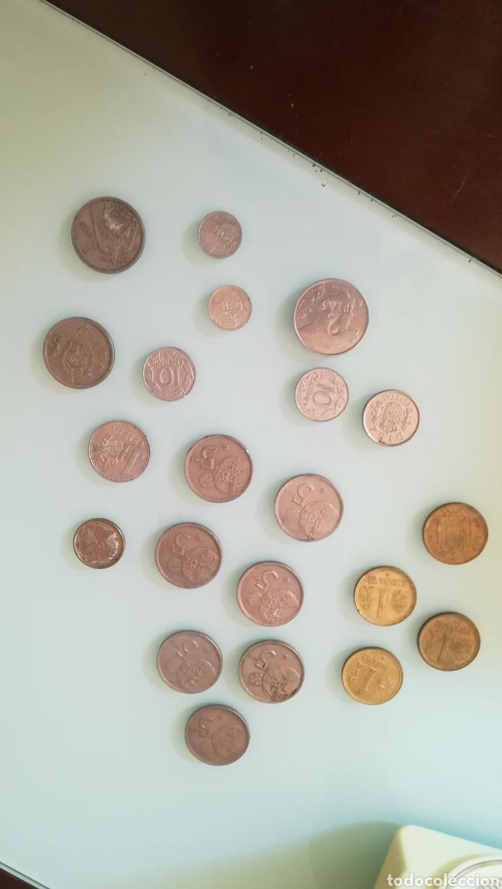 Monedas de España: 190 gramos de pesetas y céntimos - Foto 2 - 200166520