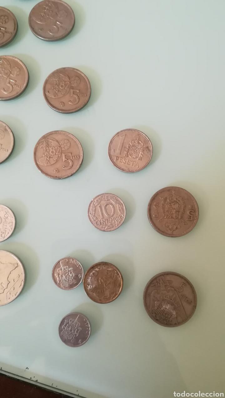 Monedas de España: 190 gramos de pesetas y céntimos - Foto 3 - 200166520