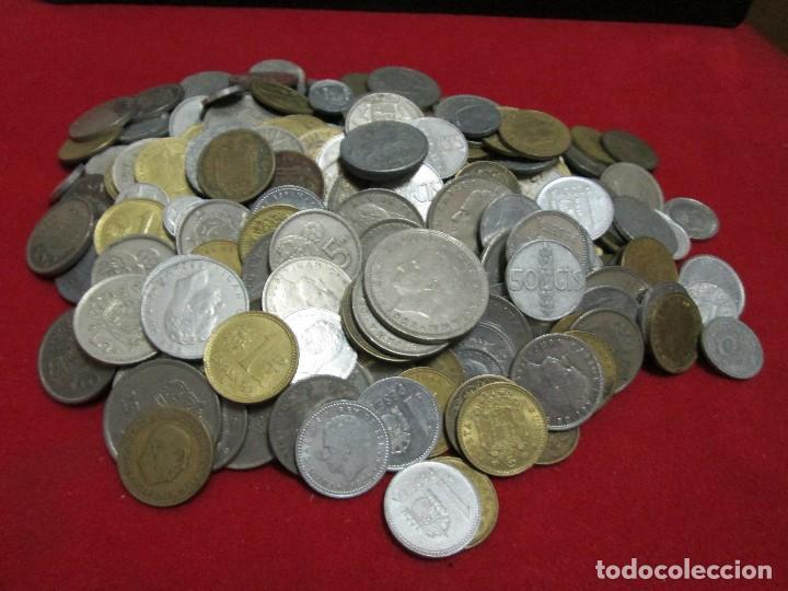 1 KILOGRAMO DE MONEDAS RESTO, JUAN CARLOS I Y ESTADO ESPAÑOL (Numismática - España Modernas y Contemporáneas - Colecciones y Lotes de conjunto)