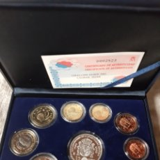 Monedas de España: 2002 ESPAÑA ESTUCHE EUROS Y 12 EUROS PLATA PROOF CERTIFICADO FNMT. Lote 203966135