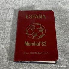 Monedas de España: CARTERA SERIE NUMISMATICA ESPAÑA MUNDIAL 82. Lote 204105695