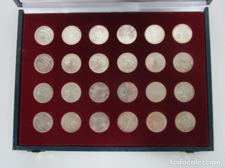 Monedas de España: Estuche - Monedas Conmemorativas Munich 1972 - Deutshland Olimpic Series - 10 Mark - en Plata de Ley - Foto 5 - 204112862