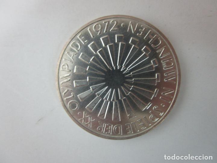 Monedas de España: Estuche - Monedas Conmemorativas Munich 1972 - Deutshland Olimpic Series - 10 Mark - en Plata de Ley - Foto 8 - 204112862
