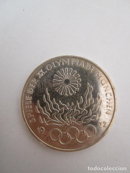 Monedas de España: Estuche - Monedas Conmemorativas Munich 1972 - Deutshland Olimpic Series - 10 Mark - en Plata de Ley - Foto 10 - 204112862