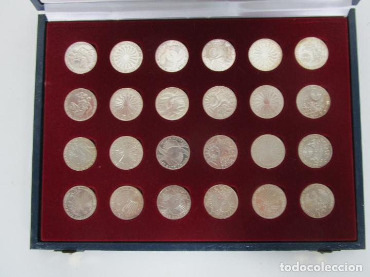 Monedas de España: Estuche - Monedas Conmemorativas Munich 1972 - Deutshland Olimpic Series - 10 Mark - en Plata de Ley - Foto 12 - 204112862