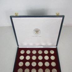 Monedas de España: ESTUCHE - MONEDAS CONMEMORATIVAS MUNICH 1972 - DEUTSHLAND OLIMPIC SERIES - 10 MARK - EN PLATA DE LEY. Lote 204112862